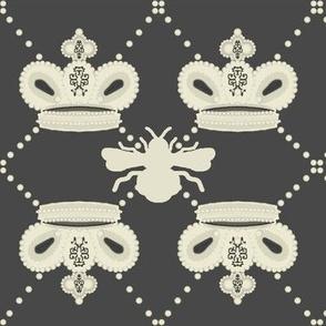 Queen Bee (Deep Grey)