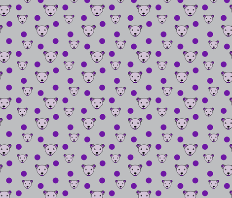 Dogs and balls fabric by alexsan on Spoonflower - custom fabric