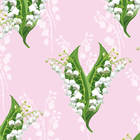 Lily sorbet fabric by lilyoake on Spoonflower - custom fabric
