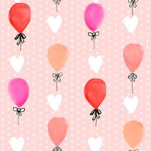balloon watercolors baby nursery girls balloon fabrics