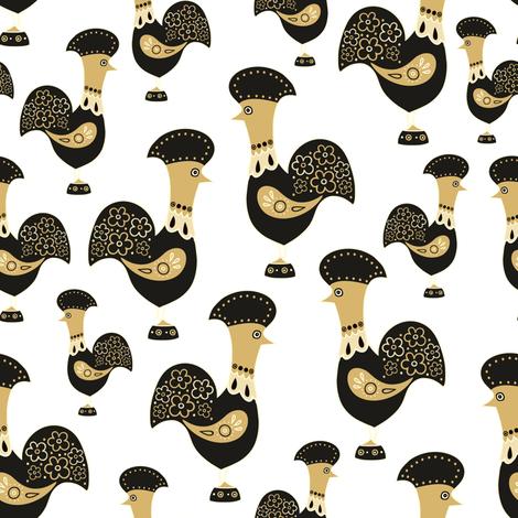 Gallo fabric by dariara on Spoonflower - custom fabric