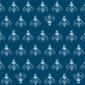 Honey bee I love thee // dark denim