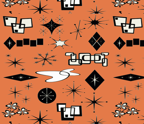Atomic Design fabric by flowerchildtrends on Spoonflower - custom fabric
