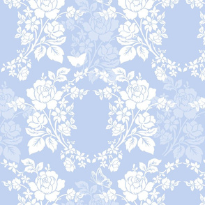 Sylke Damask blueberry