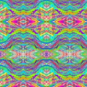 Streams of Rainbow Ripples