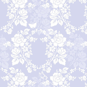 Sylke Damask blue violet