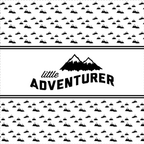 "18"" Little Adventurer Love - Minky Fabric Layout"