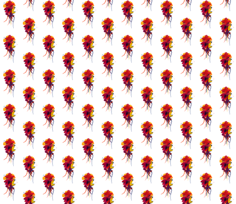 multiflower fabric by meissa on Spoonflower - custom fabric