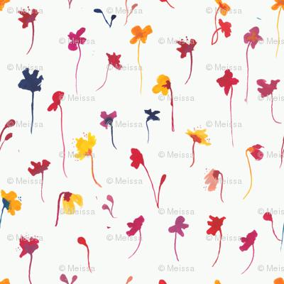 single_flowers beige