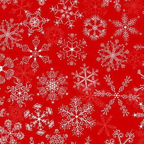 Christmas Howdy: Snow - Red