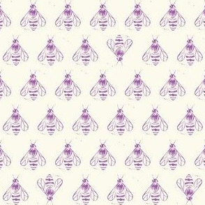 Honey bee I love thee //lavender