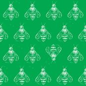 Honey bee I love thee // green