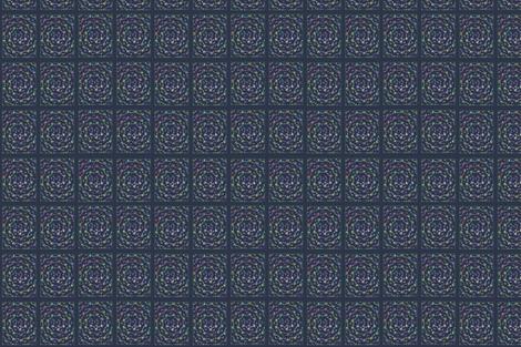 Circle_Fish_Navy fabric by erica_lindberg_designs on Spoonflower - custom fabric