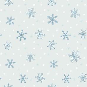 Sketchy Snowflakes