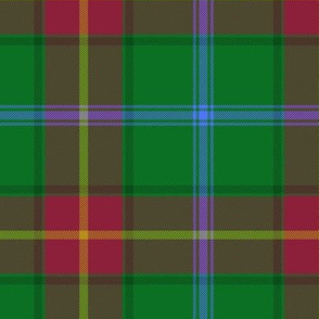 Manitoba Province official tartan - 6""