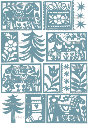 Folk art Christmas 4