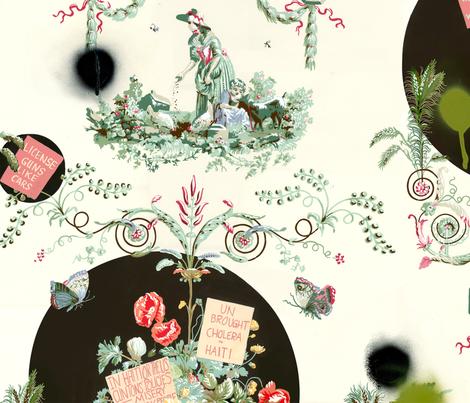 Today's Cake fabric by lfadams on Spoonflower - custom fabric