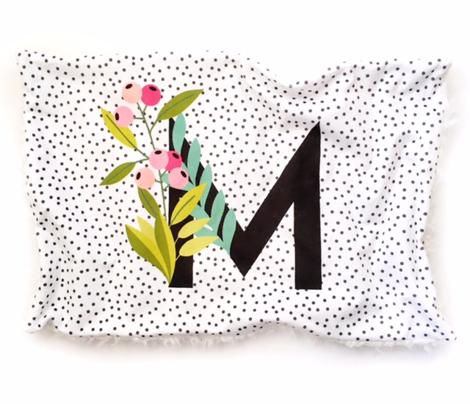 Garden letters - Letter M