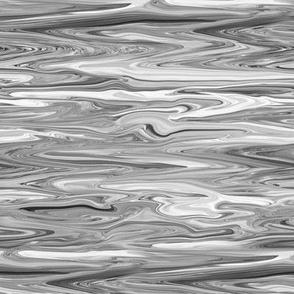LLG - Liquid Light Grey Marbled, Small CW