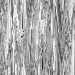 LLG - Liquid Light Grey Marbled, Small LW