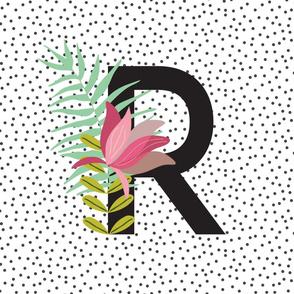 Garden Letters - Letter R