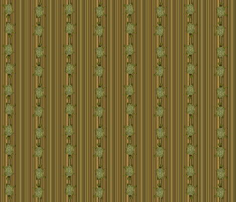 Terrapin_stripe fabric by coppercatkin on Spoonflower - custom fabric