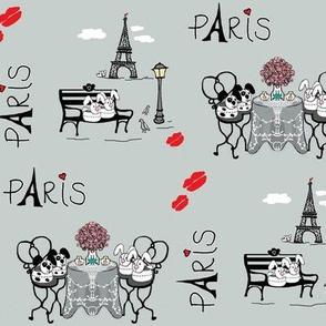 Fluff-n-Puff do lots of Stuff (Paris) pigons