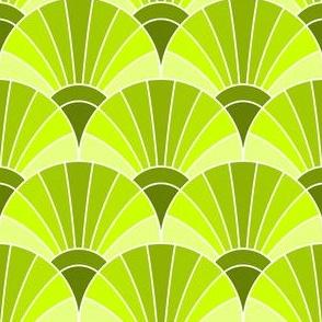 05960881 : fan scale : chartreuse green