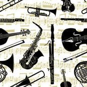 Musical Instruments // Yellow