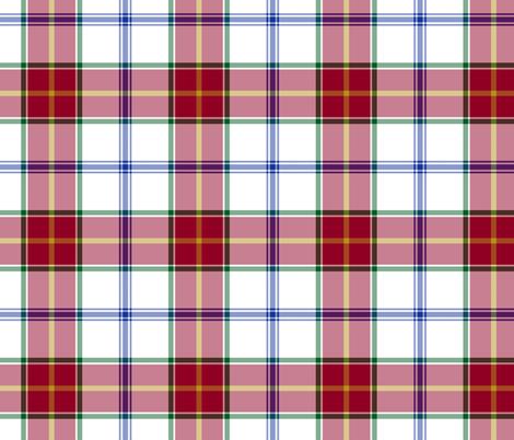 "Manitoba Dress tartan - 6"" fabric by weavingmajor on Spoonflower - custom fabric"