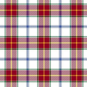 Manitoba dress tartan - 3""