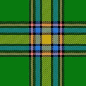 "Alberta Province official tartan - 6"""