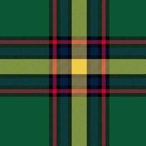 Alberta Province tartan - dark