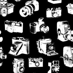 Vintage Cameras - Black