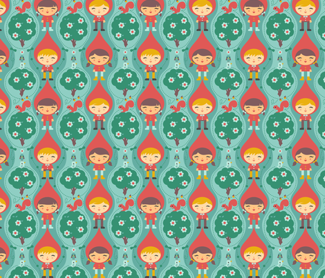 OWLP_Character1-1000 fabric by riri_willow on Spoonflower - custom fabric