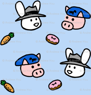 Max and Co blue donuts