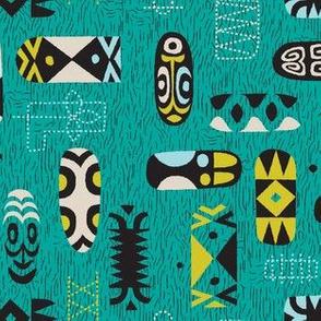Midcentury New Guinea 1c