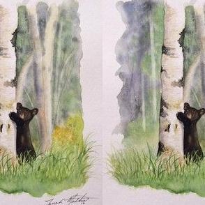 "Alaskan black bear ""Nature's friend"""