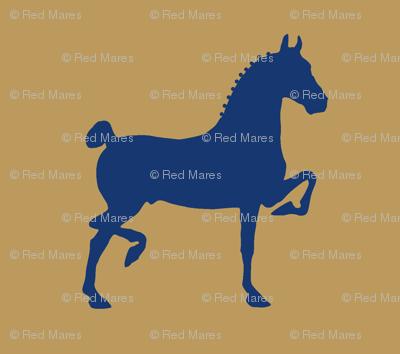 hackney pony (Khaki & Navy)