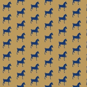 hackney pony (Khaki & Navy)