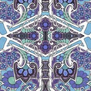 Blue Jungle Twist
