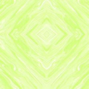 PLL - Pastel Liquid Lime Diamonds on Point, Small