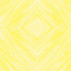 Pastel Liquid Yellow,  Diamonds on Point, small