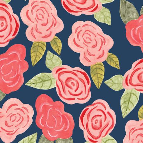 fairytale roses fabric by thislittlestreet on Spoonflower - custom fabric