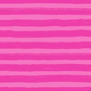 Bristle Stripes - Raspberry