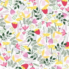 Wild Meadow floral - Spring - Medium