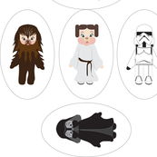 Starwars Babies Small Pillows