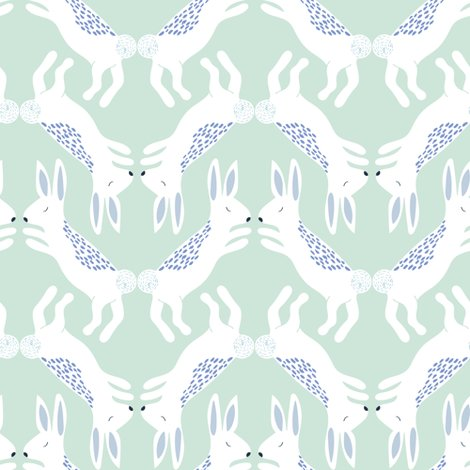 Rspoonflower_upnorth_rabbits_pastelgreen_shop_preview