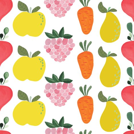 Rspoonflower_littlegardener_veggiesandfruit_shop_preview