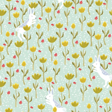 Rspoonflower_upnorth_bunnyflowers_pastelgreen_shop_preview